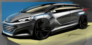 peugeot quick sketch by magao