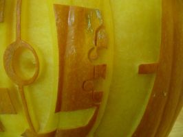 Turret Pumpkin Detail by ceemdee