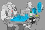 Games Night on the Evasion by Zartes