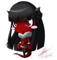 Demon Chibi Mimi.:Color Detailed:. by pokediged