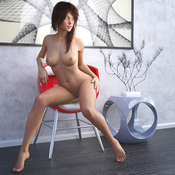 Hope Seated Pose 1 by sereph665
