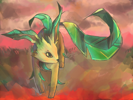 leafeon by hisako