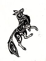 Wolf Tribal by Windicious