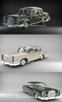 Mercedes 600 by Mick2006