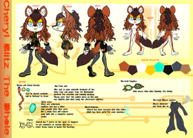 Comm: Cheryl Blitz The Dhole by KatnippD