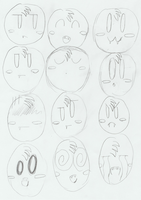 Me - expressions by MetaKnight2716