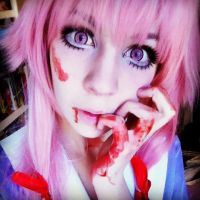 new makeup - official makeup Yuno Gasai 2 by Melted-Candy