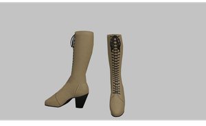 MMD Adventure boots by amiamy111