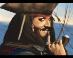 jack sparrow by redcolour