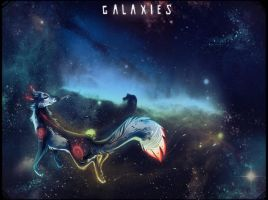 Galaxies by LoupDeMort