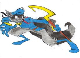 Sly Cooper by GosiaB12
