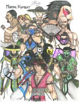 Mortal Kombat by DHK88