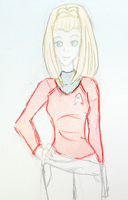 Reboot Janice Rand Concept by LLAP