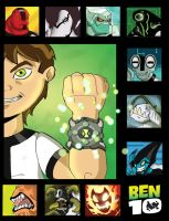 Ben 10 poster by JazylH