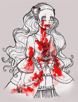 [Day 6] Too Much Blood by DrawKill