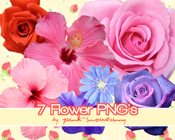 Flower PNG's by Pink-Snowbunny