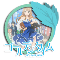 Golden Time Folder Icon by LunaeMaster