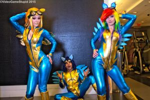 Katsucon 2015 - Wonderbolts(PS) 16 by VideoGameStupid