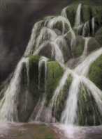 Waterfall Study by Ametystical