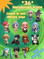 Nendoroids on your desktop by EZT