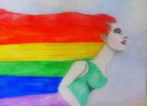 Over the rainbow by mellany23