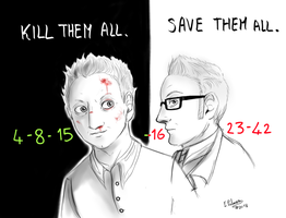 Ben and Harold - Kill and Save by FuriarossaAndMimma