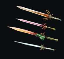 Weaponry set 97 finished by Random223