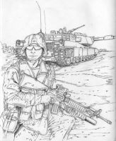 Marines  in Iraq 12 by BROKENHILL