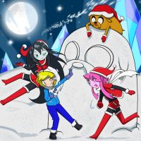 Adventure Time - 1st. Xmas by Prelloyd