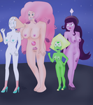 Chris and The Crystal Gems by iedasb1