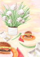 Herb Garden: Burgers by electrifried