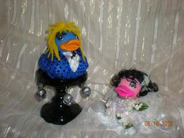 Jareth and Sara Rubber Ducks by Oriana-X-Myst
