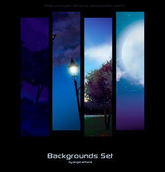 Backgrounds Set by angel-athena
