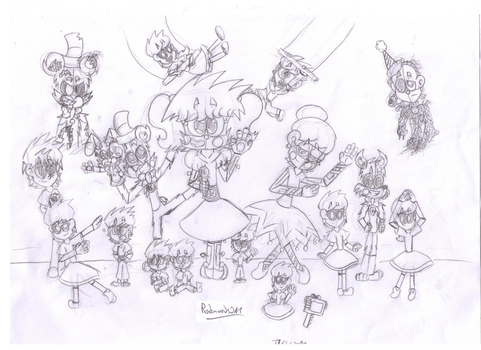 Welcome To Circus Baby's Pizza World! (WIP!) by Randomwords247