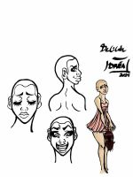 Character study: Delilah by Dreaphilia
