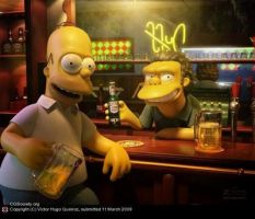 simpsons by Nicco19