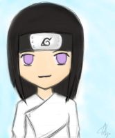 Chibi Neji (Colored) by Shizenneko-Anya