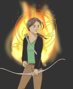 I Am The Mockingjay by LibrarianWho