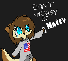 Dont Worry Be Happy by J0LIA