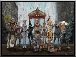 A family Photo in Guild Wars 2 by Shadowcat1001