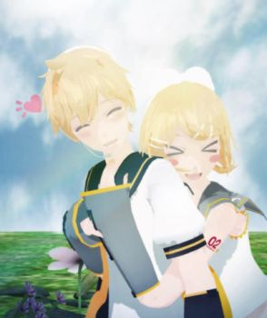 MMD Request - I wanna hug you! by Black-Star-Rin