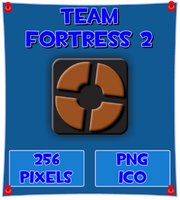 Team Fortress 2 Icon by WaywerdWolf