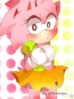 Classic Amy The Rose by cheonnyeon