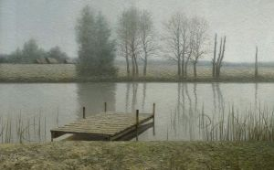 Calm dock by Daniil-Belov-artist