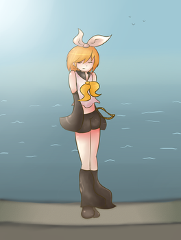 I wanted to see the ocean by KyokuseiJiseki