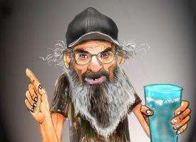 Uncle Si Robertson by eviledc