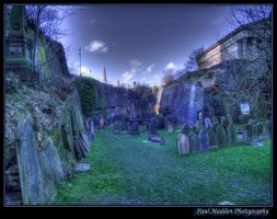 St James Cemetery Framed 4 by Paul-Madden