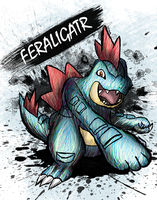 Feraligatr by sudro