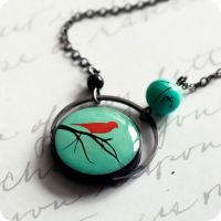 tree crown necklace by BeautySpotCrafts