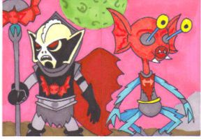 Hordak and Mantenna by Robomonkey82